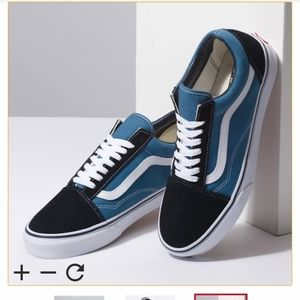 Vans Old Skool Blue/Black 10.5